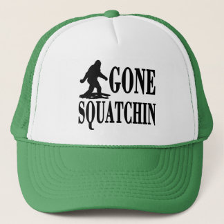 Gone Squatchin, Finding Bigfoot, Trucker Trucker Hat