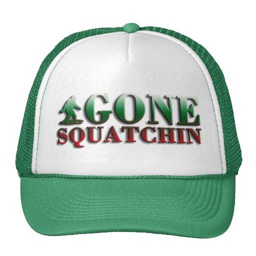 Gone Squatchin, Finding Bigfoot, Trucker Trucker Hat