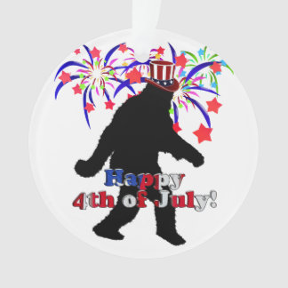 Gone Squatchin  for 4th of July (Text & Fireworks)