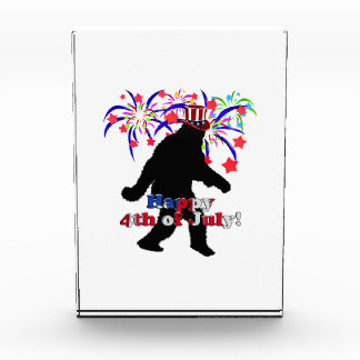 Gone Squatchin  for 4th of July (Text & Fireworks) Award