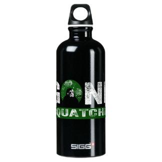 Gone Squatchin (for Black) Water Bottle