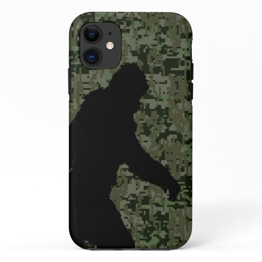 Gone Squatchin For on Olive Digital Camouflage iPhone 11 Case