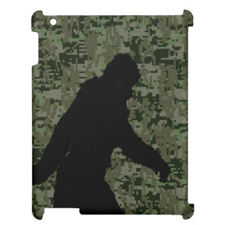 Gone Squatchin For on Olive Digital Camouflage iPad Case