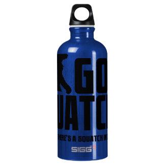 Gone Squatchin - Funny Bigfoot Believer Aluminum Water Bottle