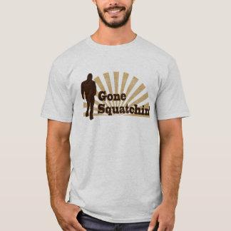 Gone Squatchin' Funny Bigfoot Sasquatch T-Shirt