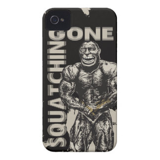 Gone Squatchin Funny iPhone 4 Case