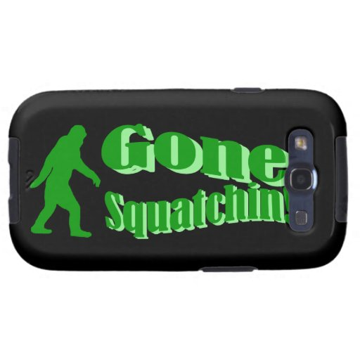 Gone Squatchin Galaxy SIII Covers