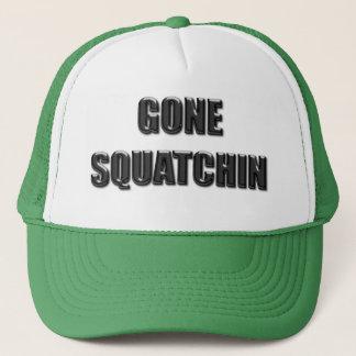 Gone Squatchin - Glass Version Trucker Hat