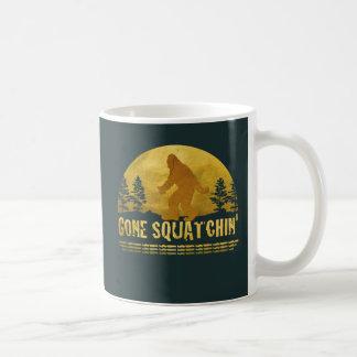 Gone Squatchin' Green Coffee Mugs