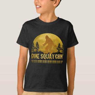 Gone Squatchin' Green T-Shirt