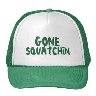 Gone Squatchin' Green Trucker Hat