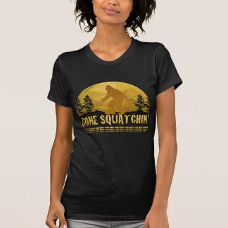 Gone Squatchin' Green T Shirt