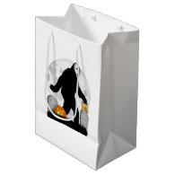 Gone Squatchin' - Halloween Squatchin' Medium Gift Bag