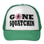 Gone Squatchin & hunting permit Trucker Hat