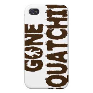 Gone Squatchin i Cases For iPhone 4