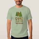 Gone Squatchin - I Love Bacon Shirt