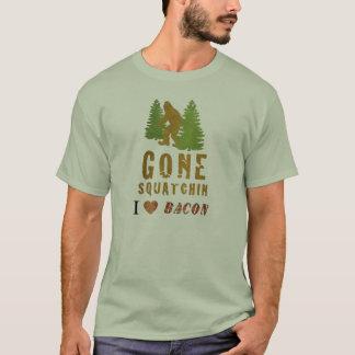 Gone Squatchin - I Love Bacon T-Shirt