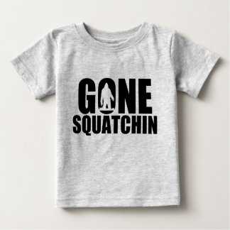 Gone Squatchin-Infant Baby T-Shirt
