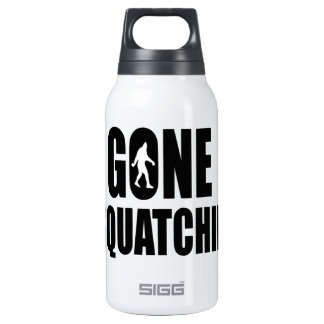 Gone Squatchin' Insulated Water Bottle