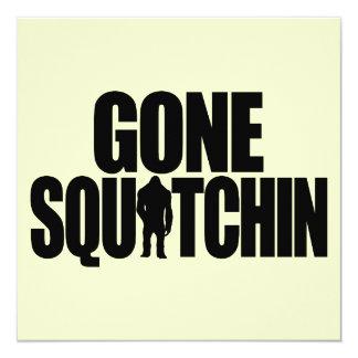 Gone Squatchin Invitation