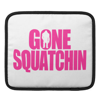 Gone Squatchin iPad Sleeve