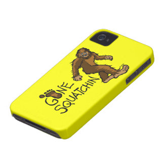 Gone Squatchin iPhone 4 Case-Mate Case