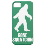 gone squatchin iPhone 5 cover