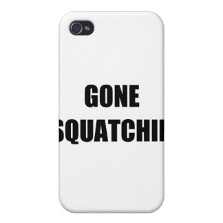 GONE SQUATCHIN COVERS FOR iPhone 4
