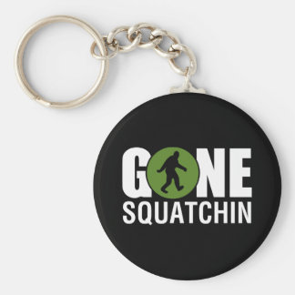 Gone Squatchin Key Chain