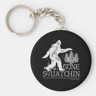 Gone Squatchin Keychain