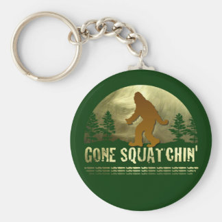 Gone Squatchin' Key Chains