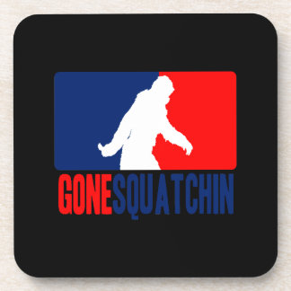 Gone Squatchin League Drink Coaster