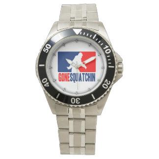 Gone Squatchin League Style Watch