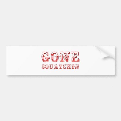 gone-squatchin-max-brown.png bumper sticker