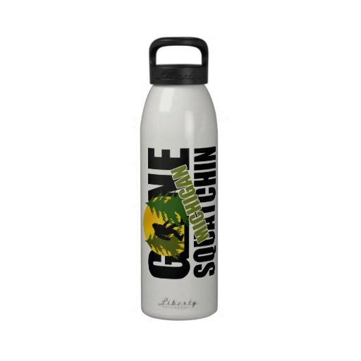 Gone Squatchin Michigan Drinking Bottles