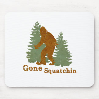 Gone Squatchin Mouse Pad