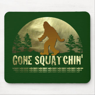 Gone Squatchin' Mouse Pads