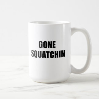 Gone Squatchin Mug Bobo Big Foot search