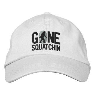 GONE SQUATCHIN O embroidered cap Baseball Cap