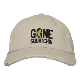 GONE SQUATCHIN O embroidered cap Baseball Cap