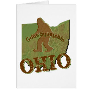 Gone Squatchin Ohio Cards
