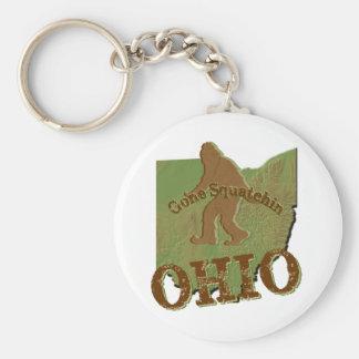 Gone Squatchin Ohio Key Chains