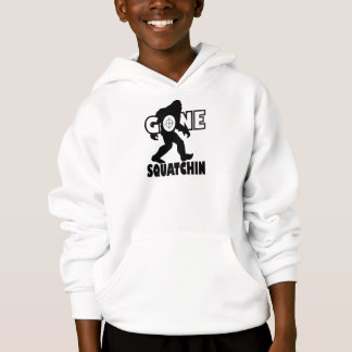 Gone Squatchin on Target Hoodie