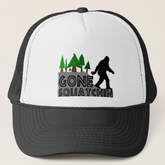 Gone Squatchin Original Design Trucker Hat
