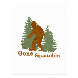 Gone Squatchin Postcard