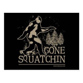 Gone Squatchin Postcards