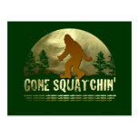 Gone Squatchin' Postcards