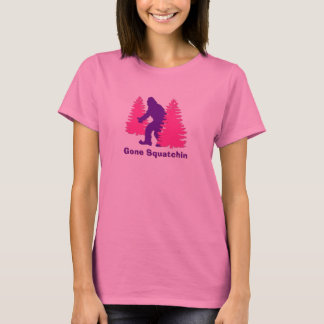 Gone Squatchin - Purple T-Shirt