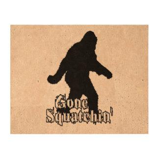 Gone Squatchin' Cork Paper