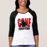 Gone Squatchin (Red & Black) Shirt